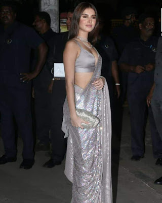 Tara Sutaria at diwali bash