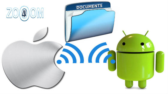 How to send files from android to mac