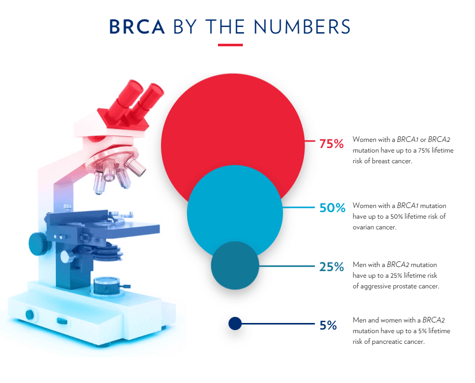 digital annual report example from Basser Center for BRCA