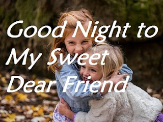 good night friends image