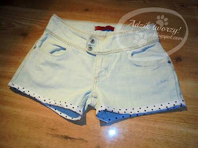DIY szorty na lato z długich jeansów jak zrobić