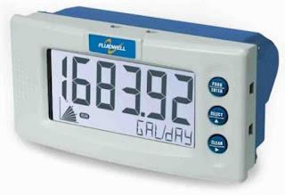 Fluidwell D090 DIN Panel mount - General Purpose Indicator