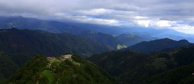 View from  Highest Point in the Philippine Highway System