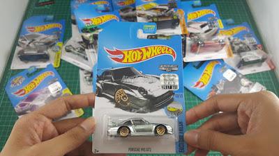 Hot Wheels Zamac Edition Porsche 993 GT2