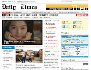 Daily Times Blogger Template