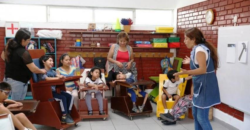 Cerca de 100 mil estudiantes con alguna discapacidad iniciaron sus clases en centros de Educación Básica Especial del MINEDU