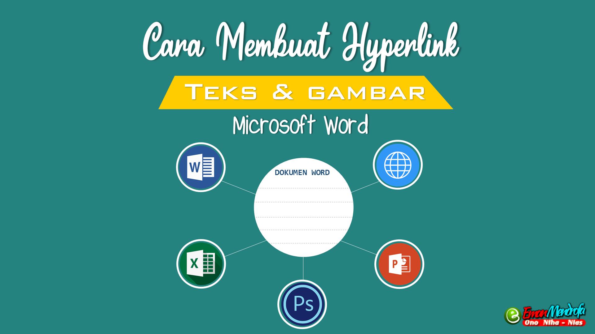 Cara Membuat Hyperlink di Microsoft Word