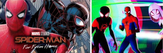 Multiverse relation in Spiderman