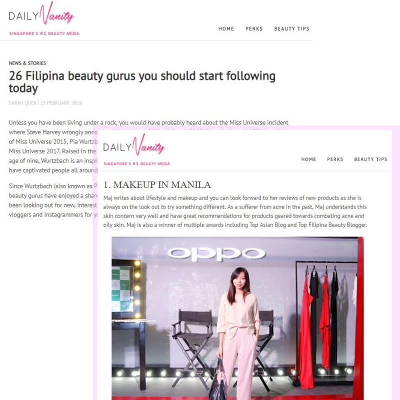 Maj Valencia Makeup in Manila Top Pinay Beauty Blogger