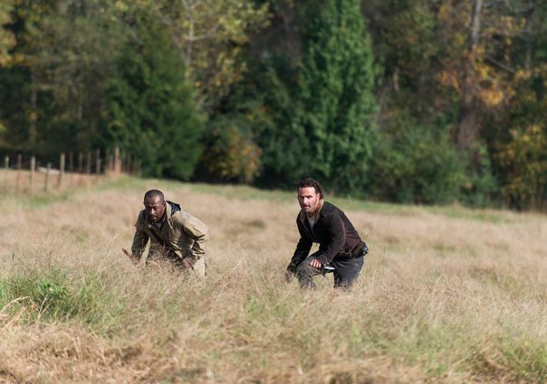 "Rick y Morgan en el 6x15 ""East"" de 'The Walking Dead'"