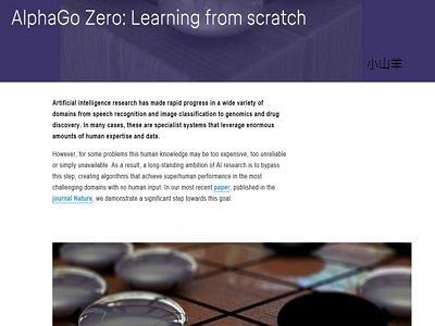 人工智慧AlphaGo Zero
