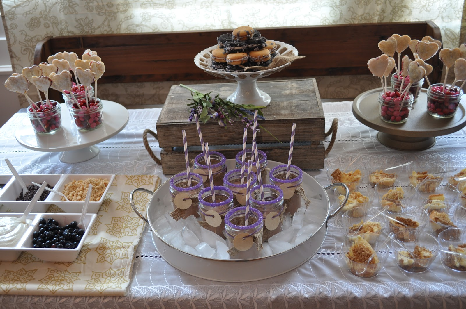 Country Mom Party Goddess: Country Chic Bridal Shower