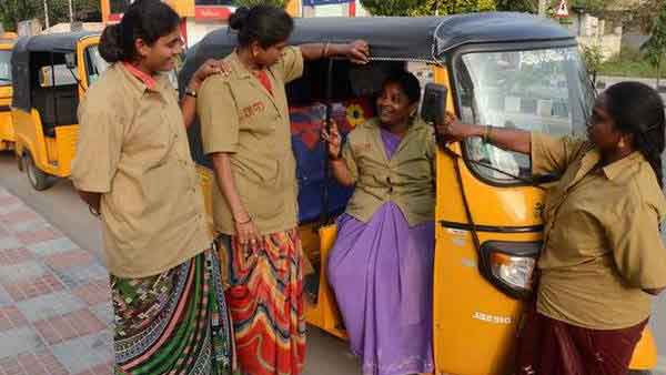 dalit woman became auto driver