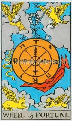 Arcanos Mayores: La Rueda del Tarot de Rider-Waite