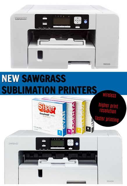 sawgrass, silhouette and sublimation, sublimation printing, sublimation printer, silhouette 101