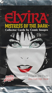 Elvira Trading Cards wrapper