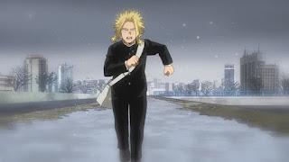 ヒロアカ アニメ5期   オールマイト 若い頃   僕のヒーローアカデミア My Hero Academia EPISODE 105