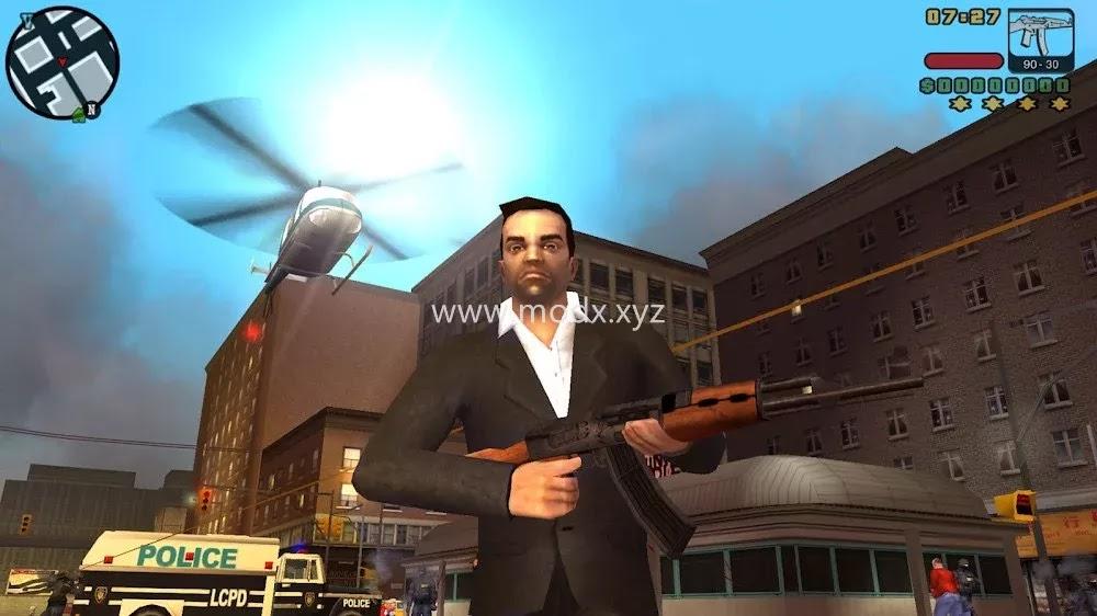 GTA: Liberty City Stories (MOD, Unlimited Money)