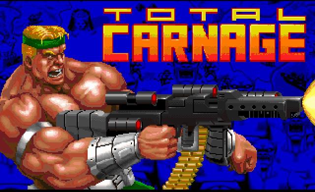 Videojuego Total Carnage