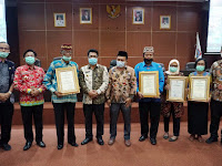 ODF 100%, Menkes Terawan Ganjar Lamsel Penghargaan Terbaik Ke-2 Se-Indonesia