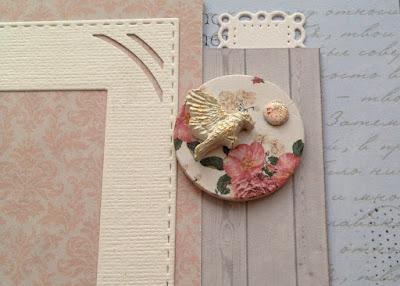 Скрапбукинг альбом scrapbooking album Fleur Design hand-made turner