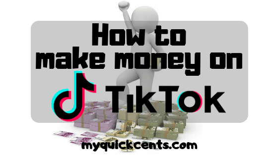 make money on tiktok
