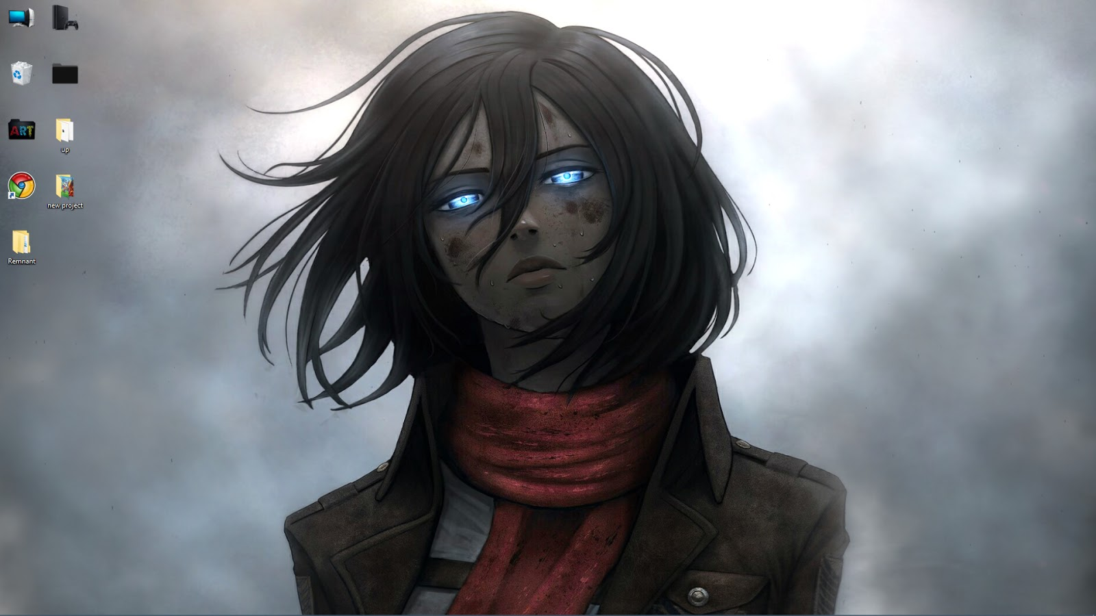 Wallpaper Engine Anime Mikasa Ackerman Attack On Titan Live Wallpaper Free Download
