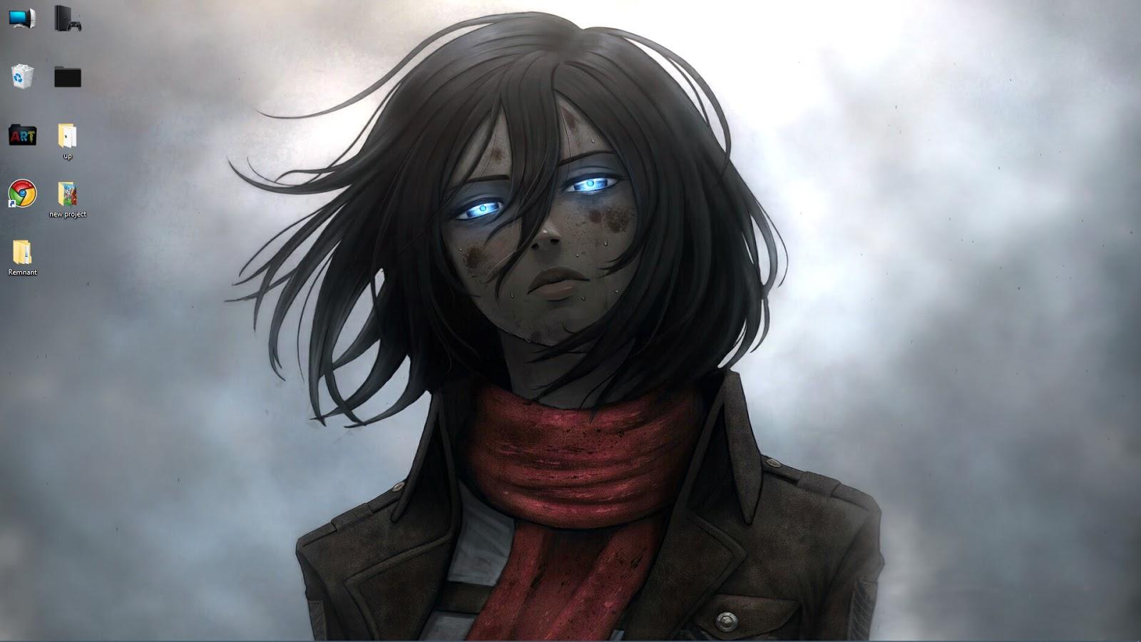 Annie leonhart, levi ackerman, shingeki no kyojin,. anime Mikasa Ackerman Attack on Titan live wallpaper free ...