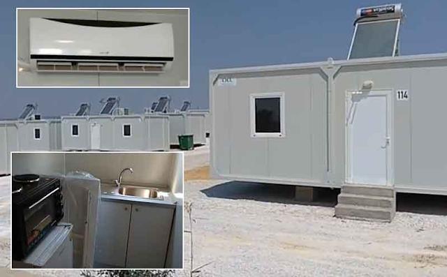 Οικισμοί με WiFi, ηλιακό, Aircondition και κάθε άνεση για τους «πρόσφυγες» και Έλληνες άνεργοι αυτοκτονούν! (vid)