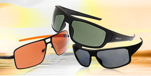 up to 78% off Ray-Ban and TAG Heuer Sunglasses at Woot