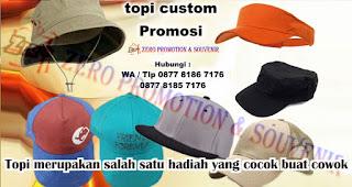 Topi merupakan salah satu hadiah yang cocok buat cowok