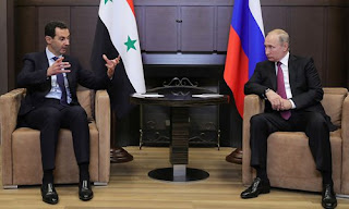 Assad meets Russia's Putin in Sochi on future peace talks