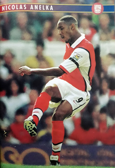 PIN UP NICOLAS ANELKA (ARSENAL)