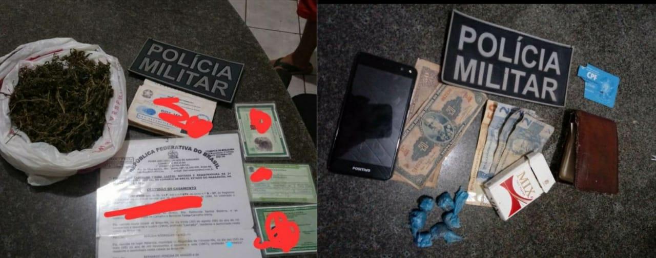 Homem é preso por tráfico de drogas em Brejo.