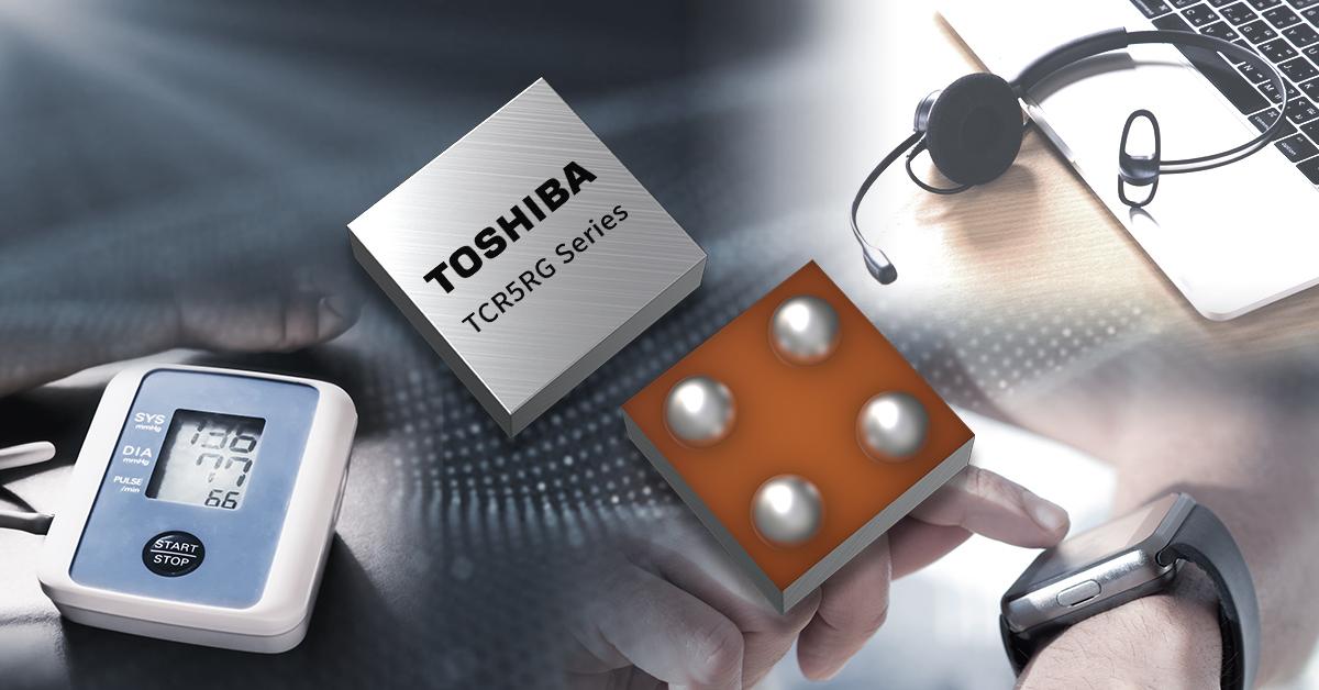 Toshiba launches slim and compact LDO regulators
