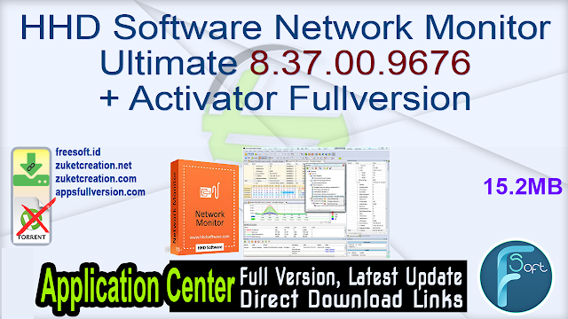 HHD Software Network Monitor Ultimate 8.37.00.9676 + Activator Fullversion