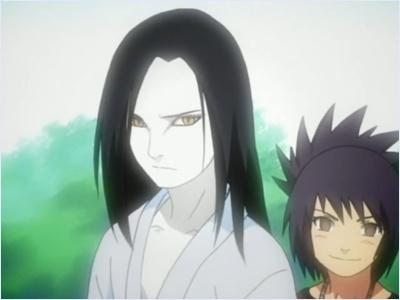 อังโกะในวัยเด็กกับโอโรจิมารุ