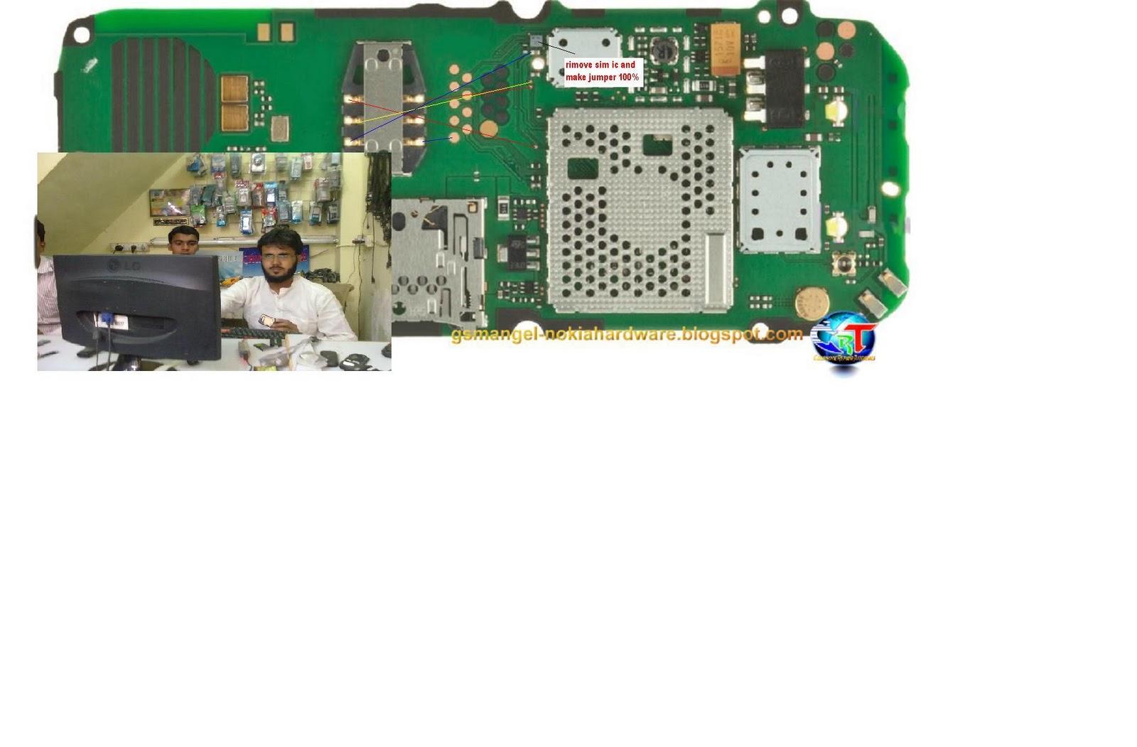 Nokia C1 C1-01 insert sim Final Solution - GSMHosters