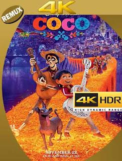 Coco (2017) 4K REMUX  2160p UHD [HDR] Latino [GoogleDrive]