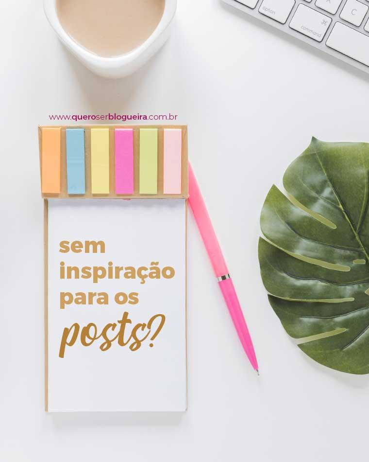46 Ideias de posts para o seu blog