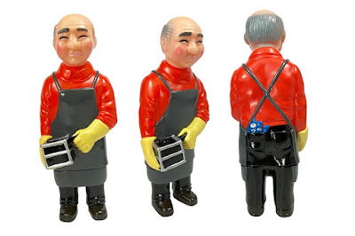 Sofubi-man Red Shirt Edition Vinyl Figure by Mark Nagata x Max Toy Co