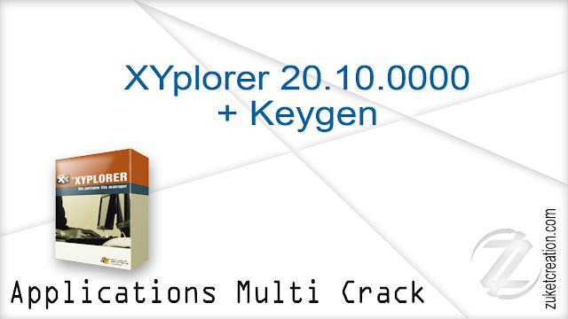 XYplorer 20.10.0000 + Keygen    |   4 MB