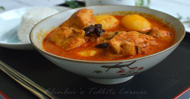 Chicken Curry  Chinese Style Recipe