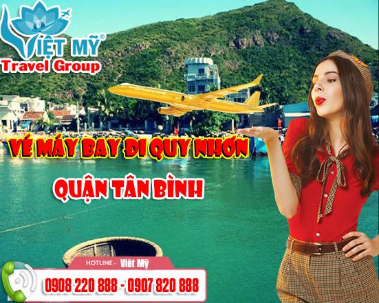Đặt vé máy bay đi Quy Nhơn quận Tân Bình