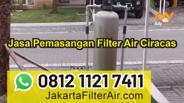 jasa pemasangan filter air ciracas