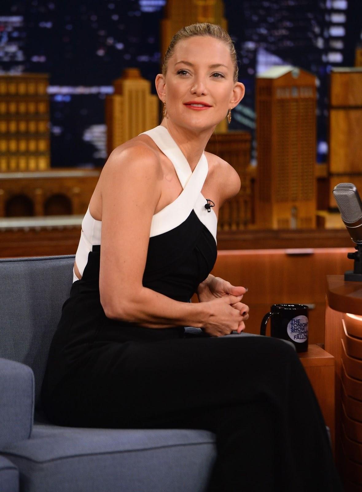 Kate Hudson At Tthe Tonight Show Starring Jimmy Fallon