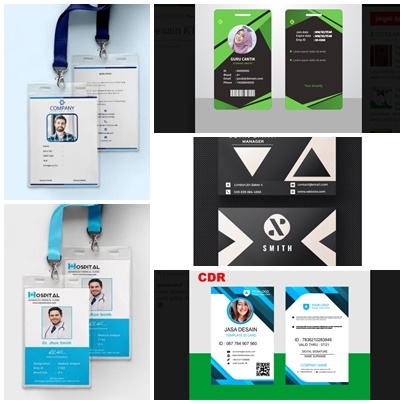 download template id card doc psd cdr