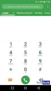 lg g5 android oreo 8.0 aplikacja telefon