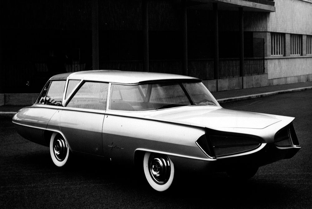 1959 Ghia Selene by Tom Tjaarda, an Amazing Concept From Future Past From Italy