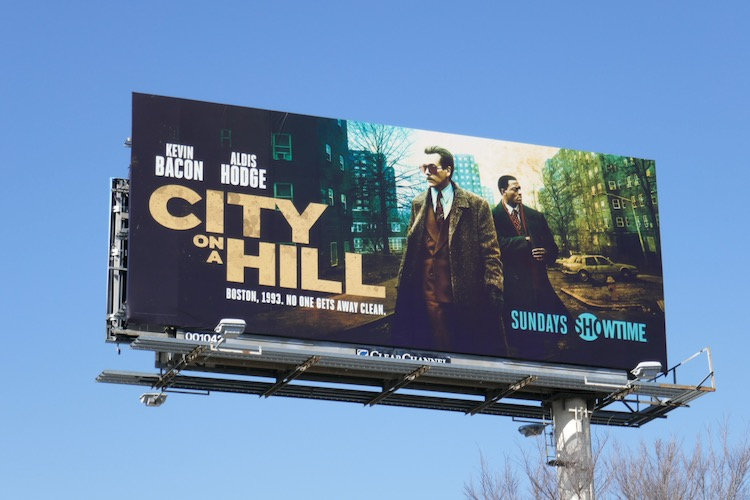 City on a Hill season 2 Showtime billboard
